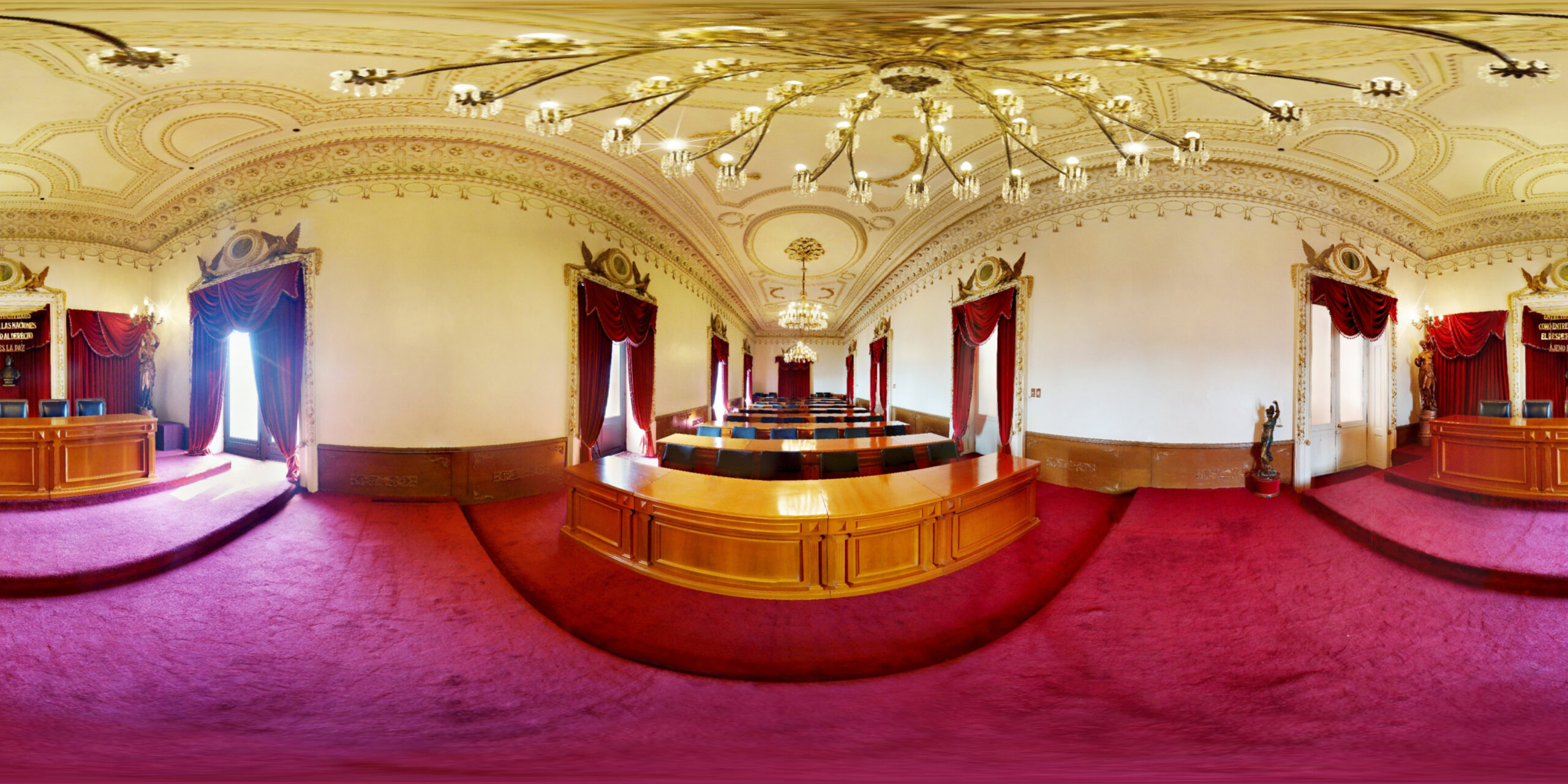 Salón Rojo, Poder Judicial
